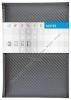 Notes Carbon stříbrný - linkovaný A5
